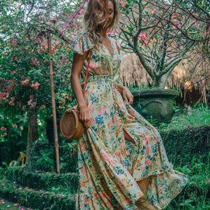ULU Grete Dress California Poppy NWOT
